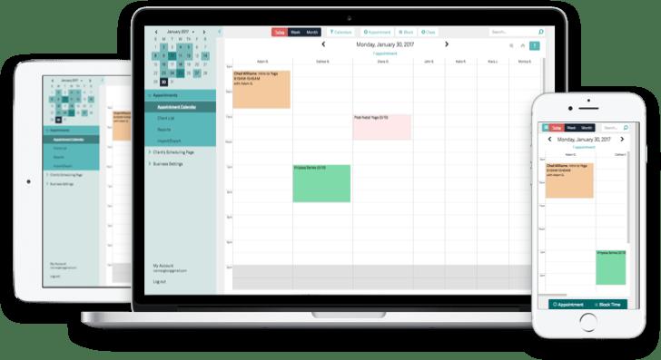 online scheduling calendar free